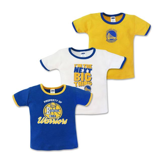 the best attitude 08f64 cdad8 NBA Baby - 3-piece T-Shirt (Next Big Thing - Warriors) - Cotton Stuff