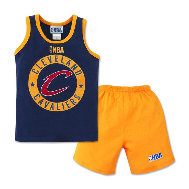 Nba Toddler Sando And Shorts Set Cavaliers Cotton Stuff